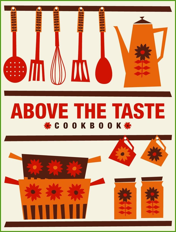 Recipe Book Cover Design Template