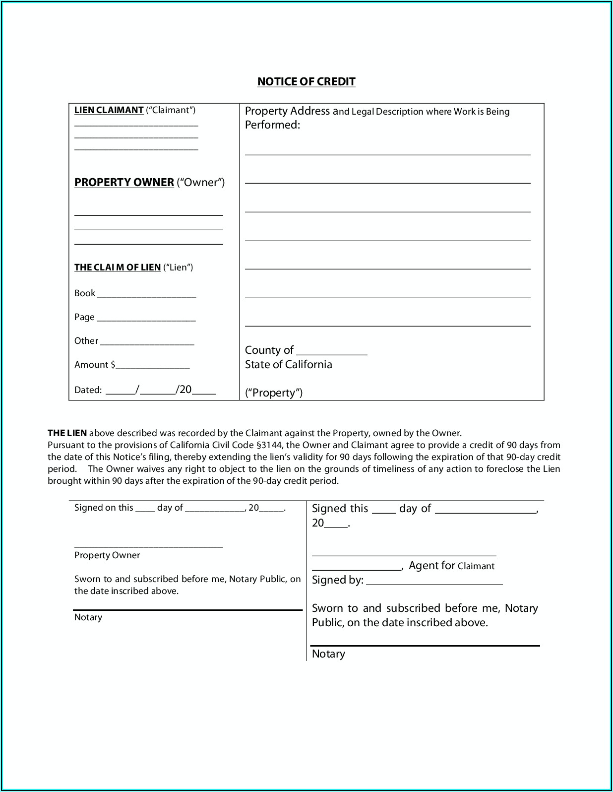 San Mateo County Grant Deed Form