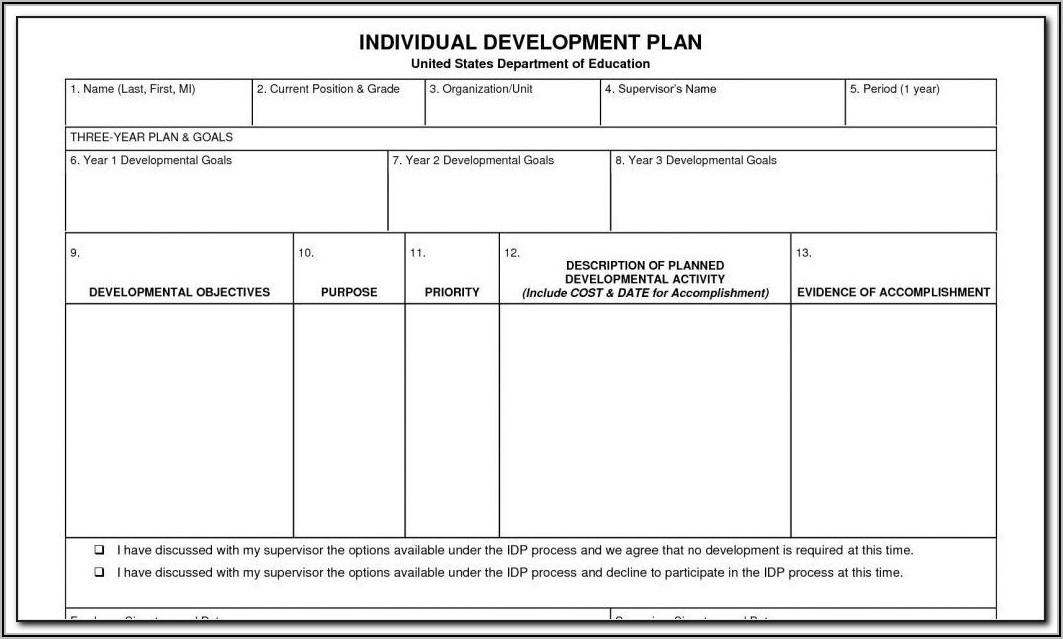 Staff Succession Plan Template