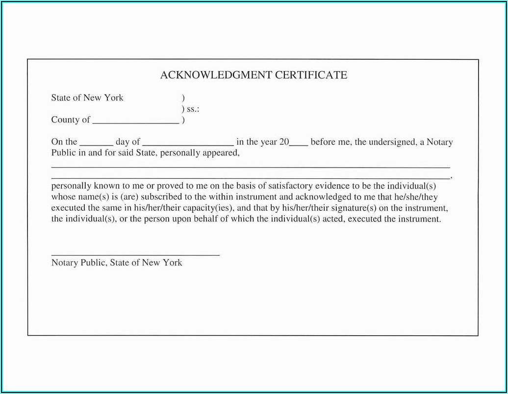 State Of Texas Notary Public Forms