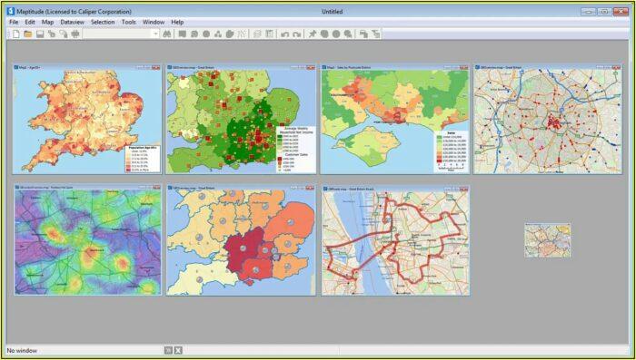 Uk Postcode Mapping Software