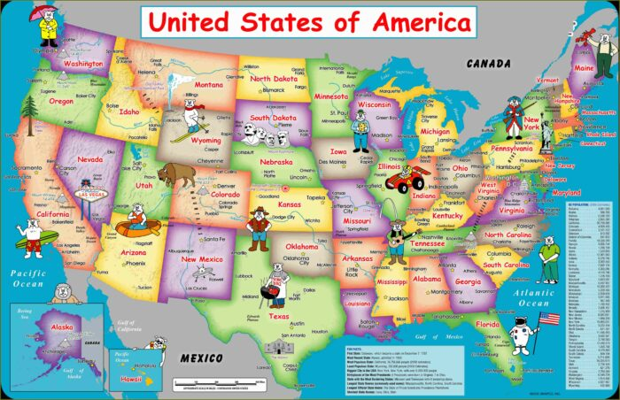 Us State Map Puzzle