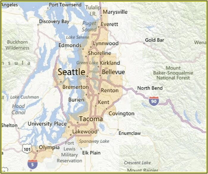 Usda Home Loans Washington Map