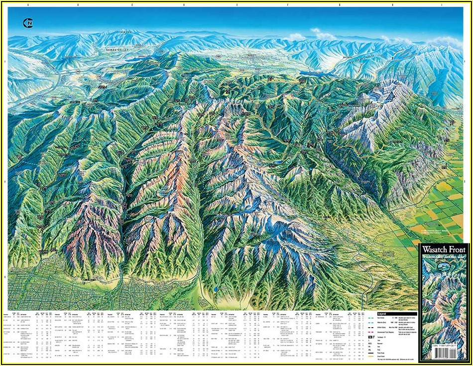 Utah Hiking Maps