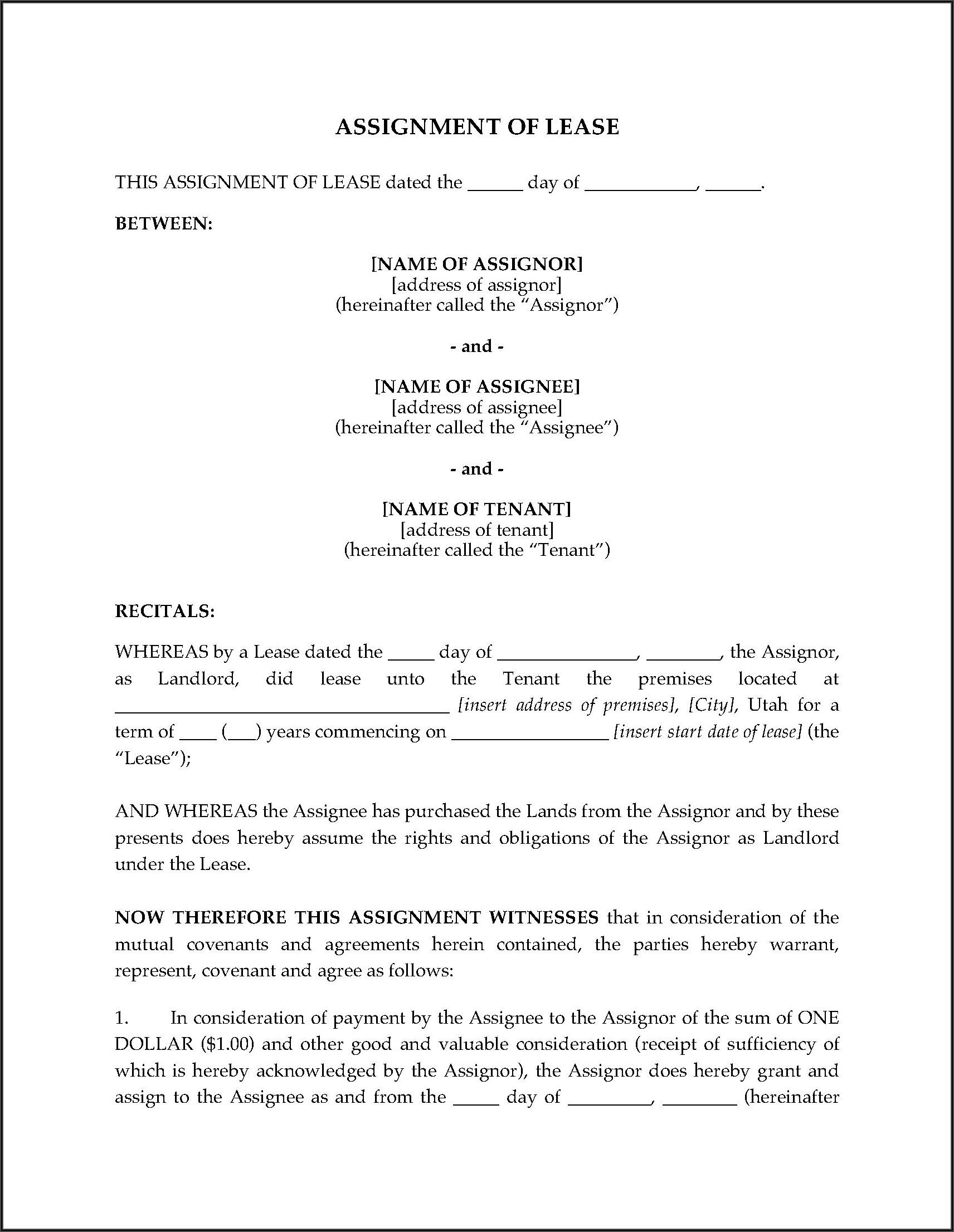 Utah Landlord Forms