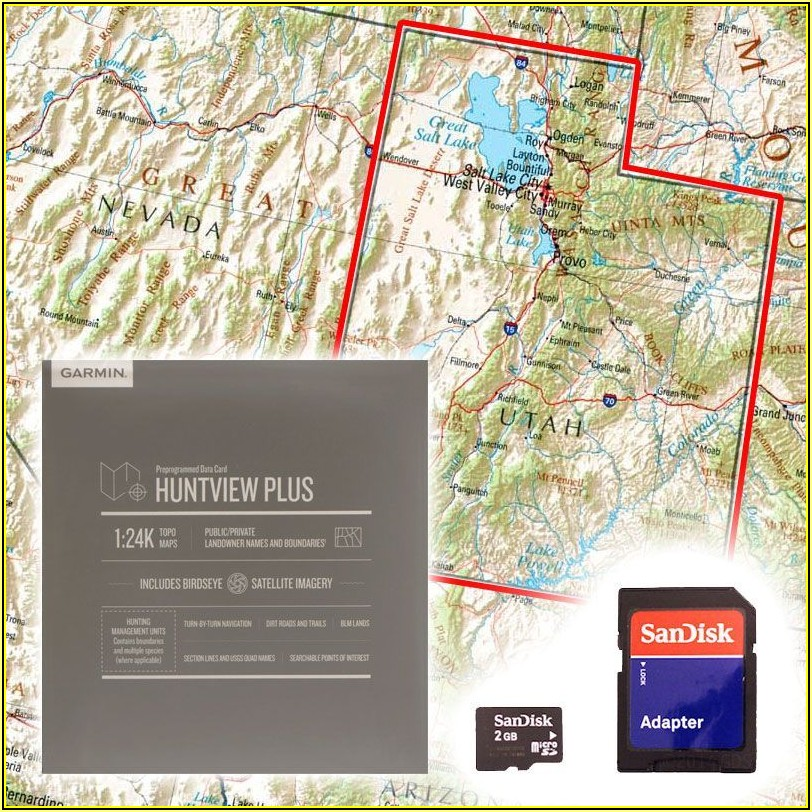 Utah Trail Maps Garmin