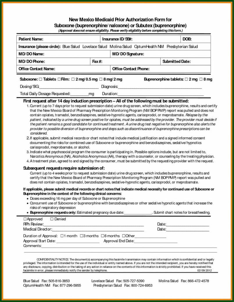 Virginia Medicaid Prior Auth Form