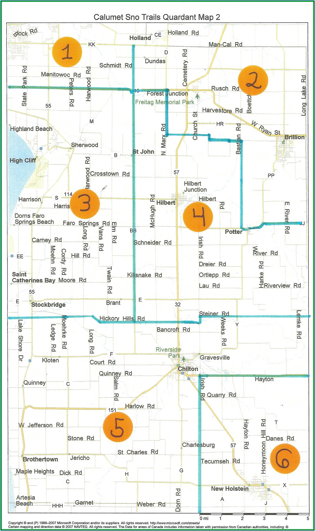 Wi State Snowmobile Trail Map