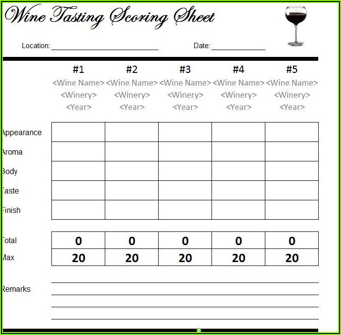 Wine Gift Certificate Template