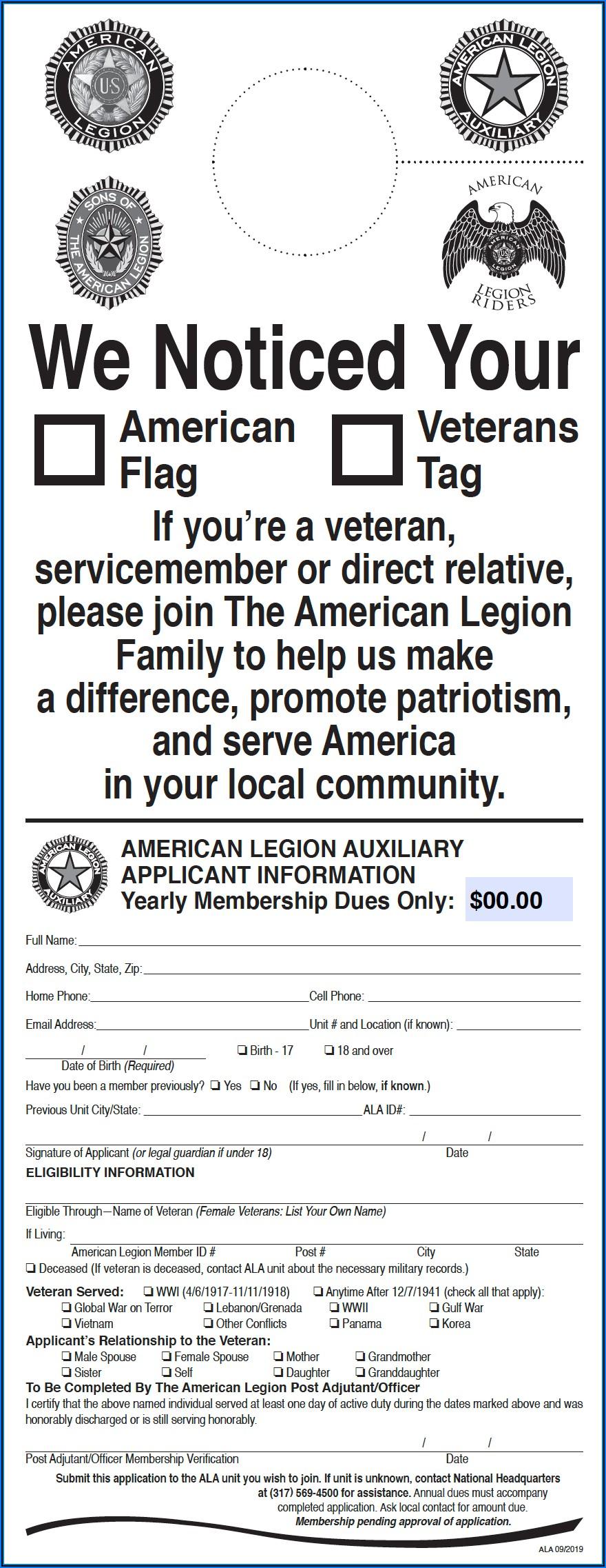 American Legion Newsletter Template