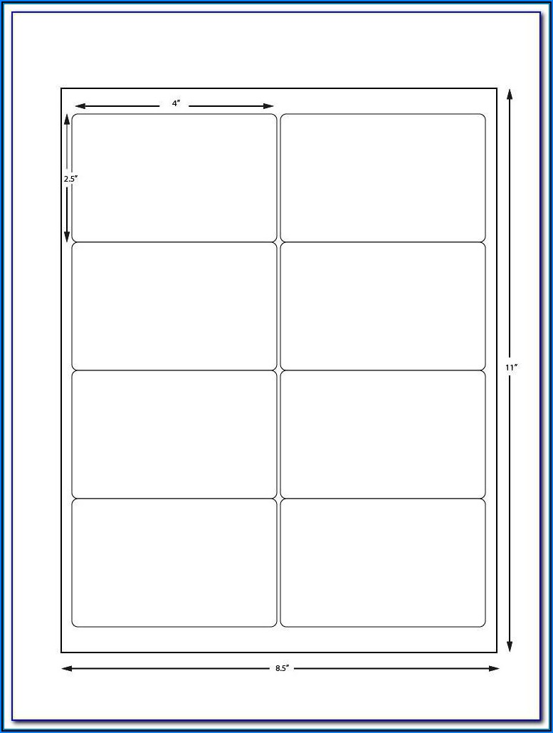 Avery 21 Label Sheet Template
