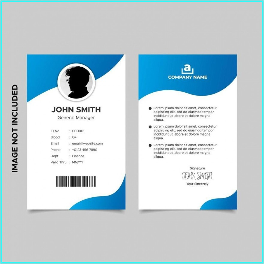 Avery Photo Id Badge Templates