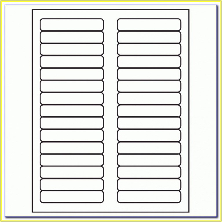 Avery Tab Inserts Template 11136