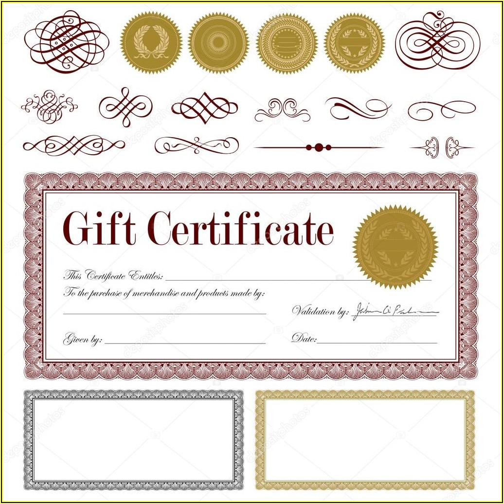 Baptism Certificates Templates