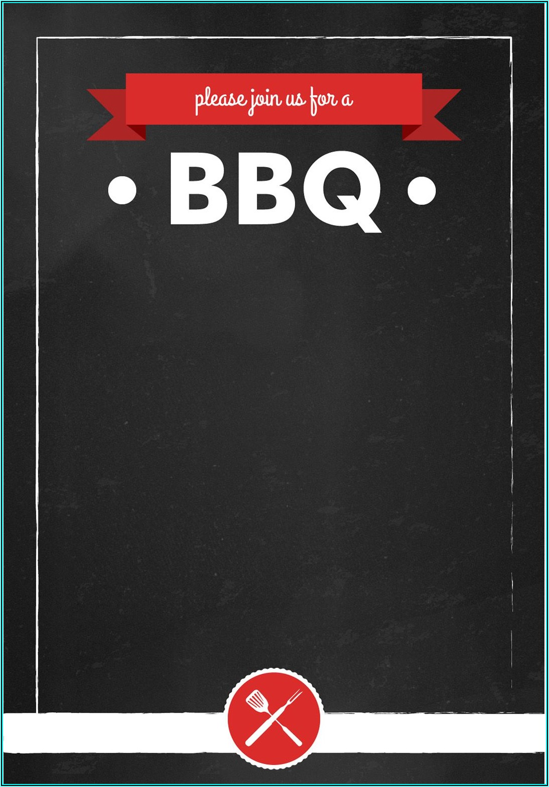 Bbq Party Template Free