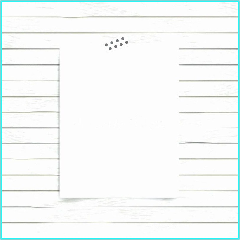 Blank Half Fold Greeting Card Template