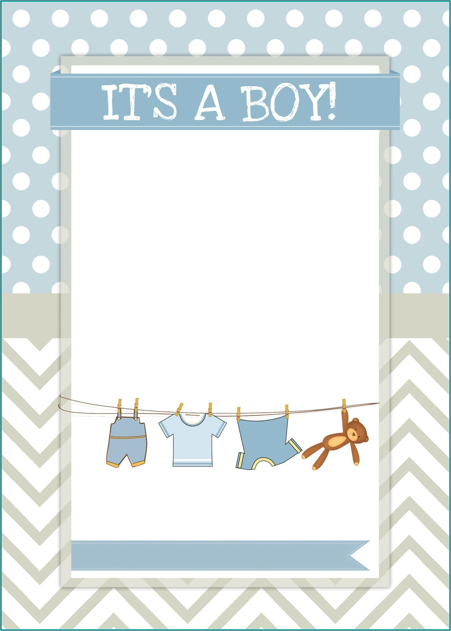 Boy Invitation Templates
