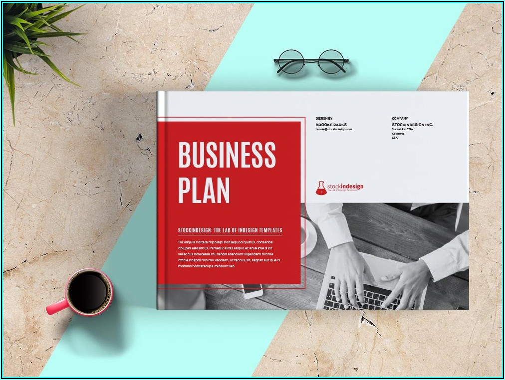 Business Plan Template Adobe Indesign