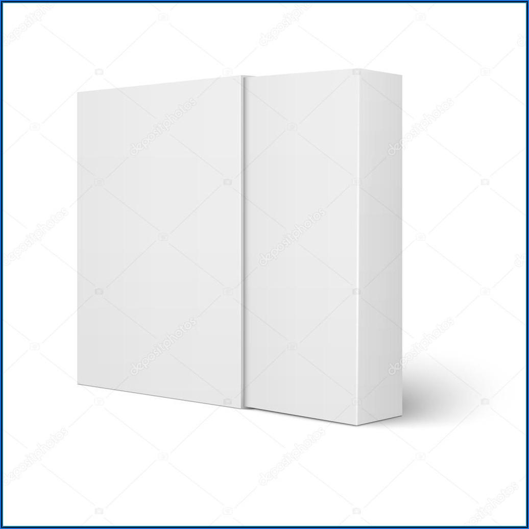 Cardboard Sleeve Packaging Template