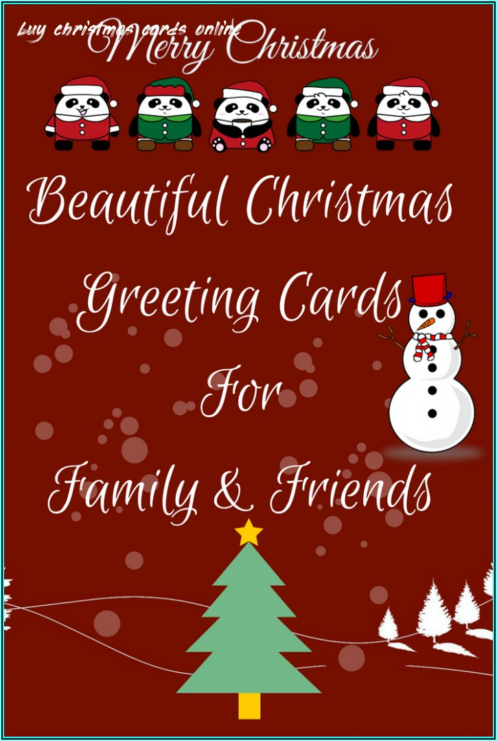 Company Christmas Cards Template