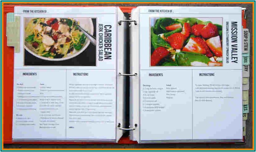 Cookbook Cover Templates
