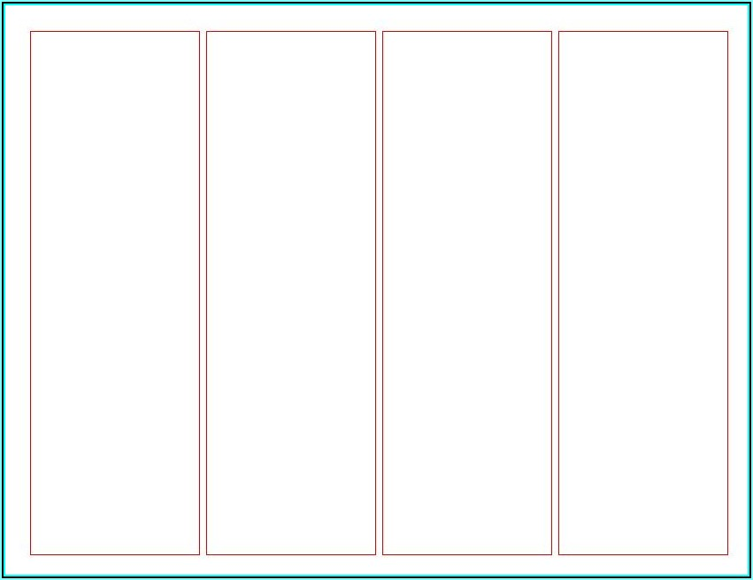 Create Your Own Bookmark Template Free