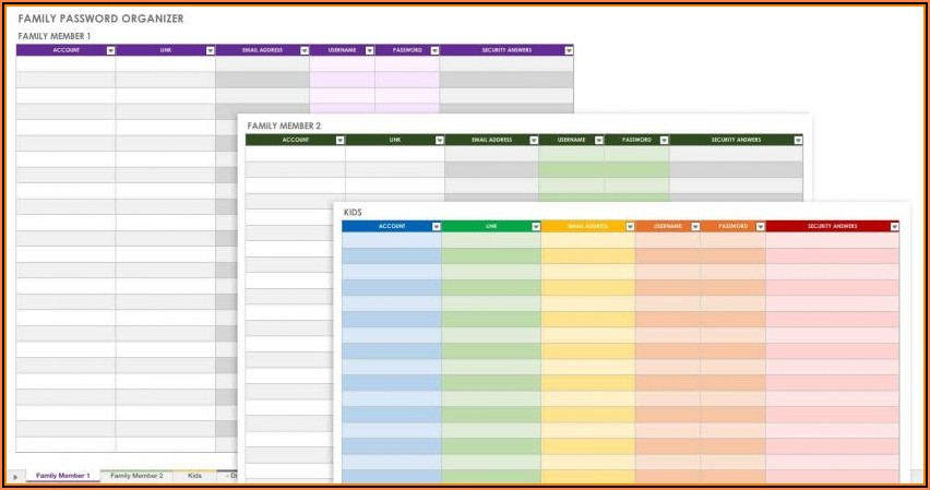 Customer Database Excel Template Free