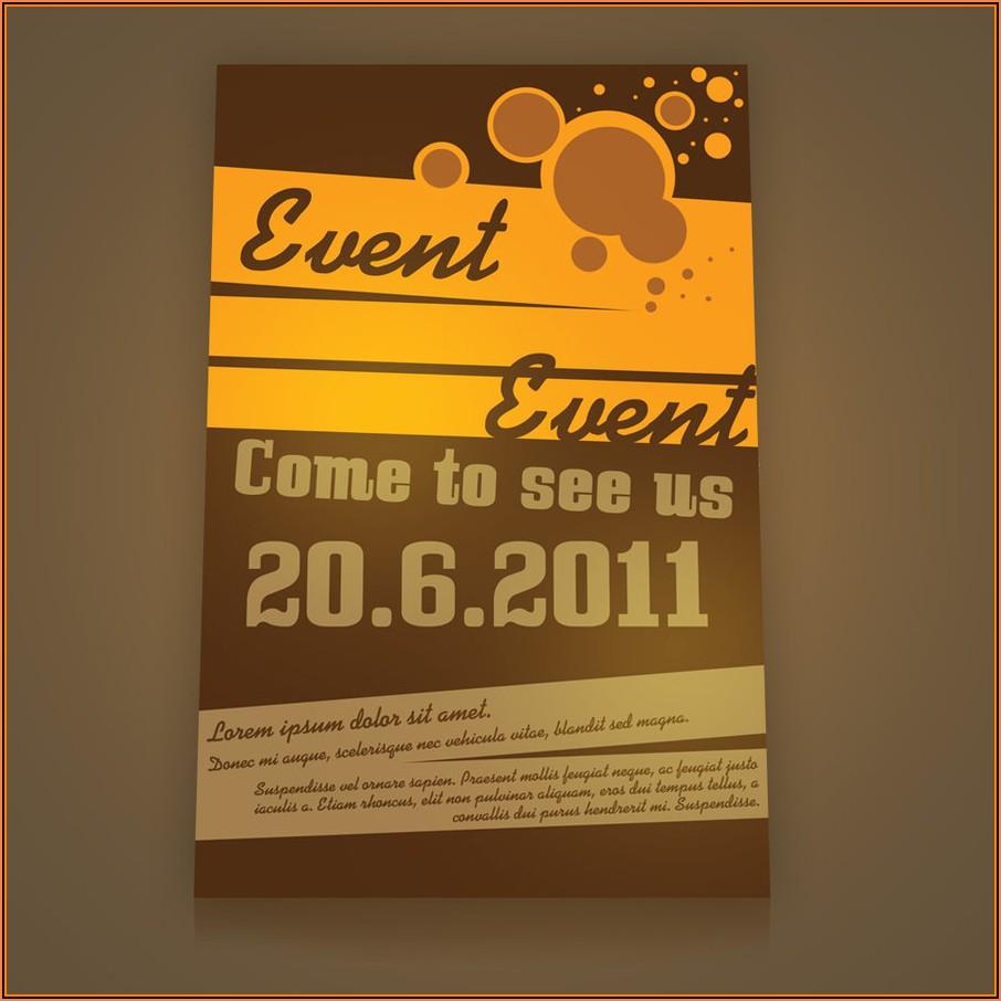 Event Flyer Design Templates Free