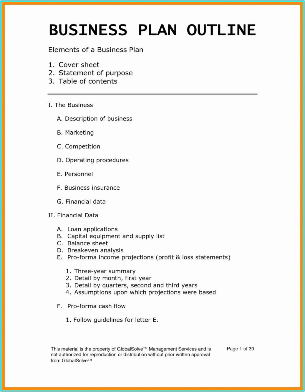Free Disaster Recovery Plan Word Template