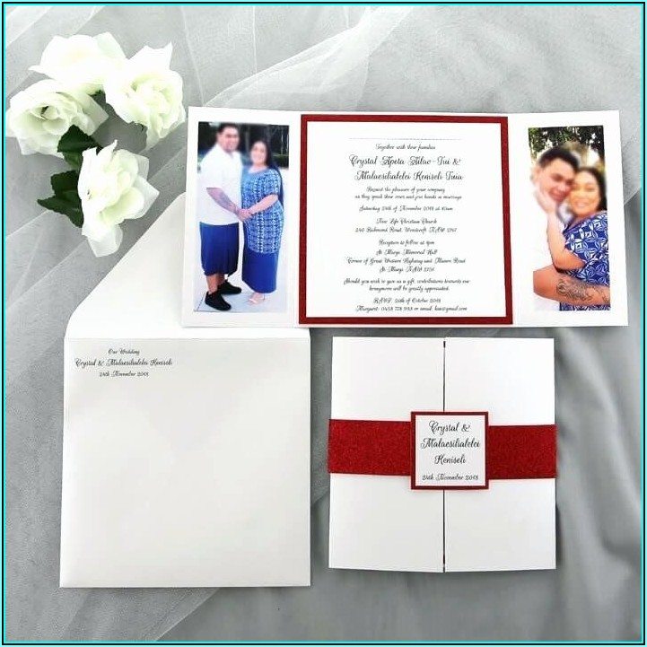 Free Gate Fold Invitation Template