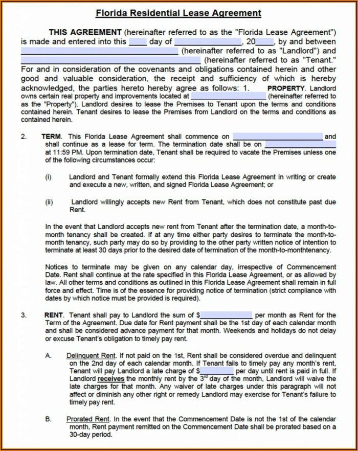 Free Rental Agreement Form Florida .pdf