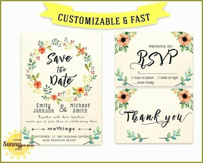 Free Wedding Save The Date Email Templates