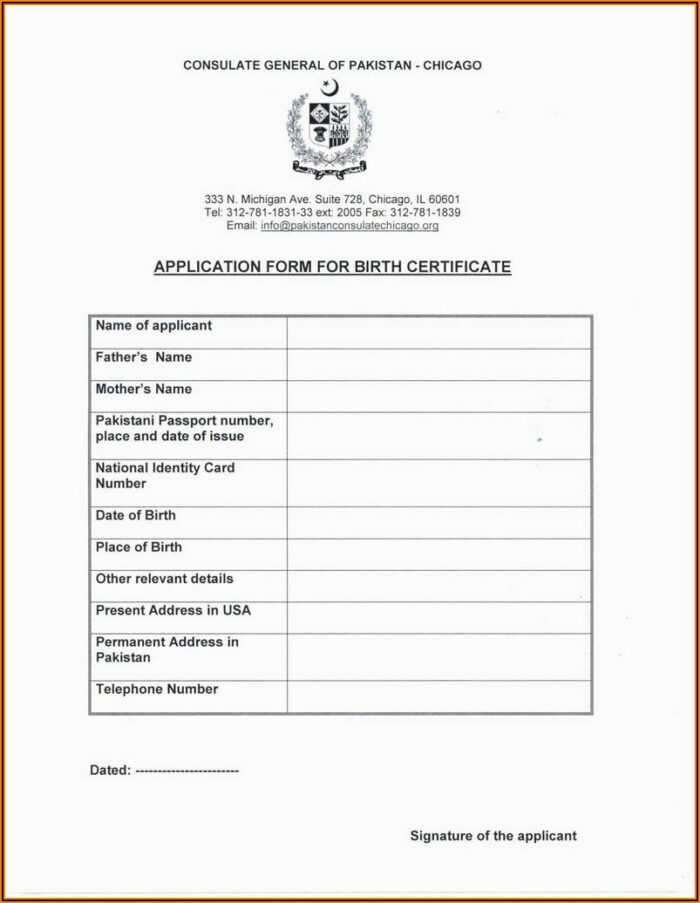 Ghana Passport Renewal Application Forms
