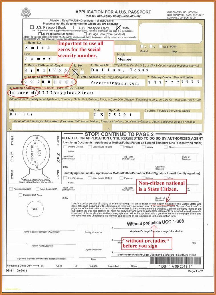 Ghana Passport Renewal Forms