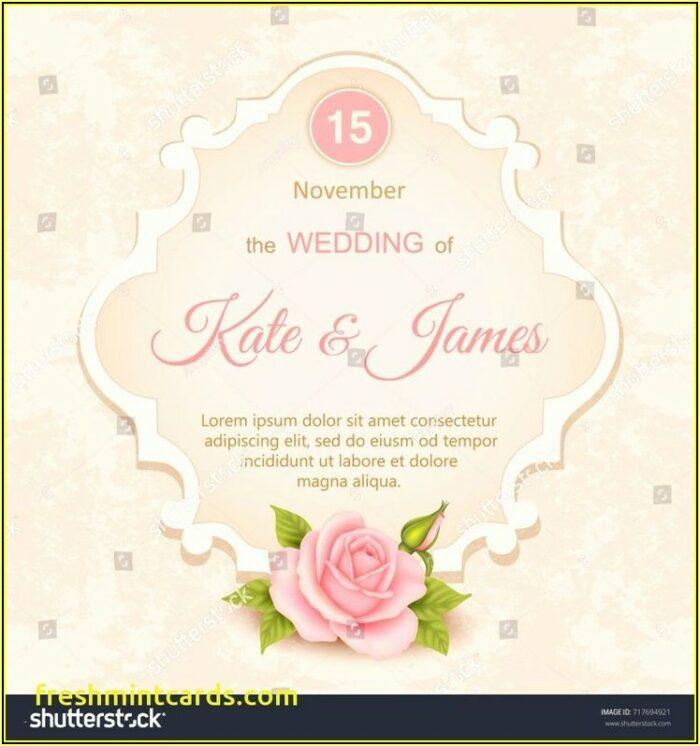 Hawaiian Wedding Invitation Templates