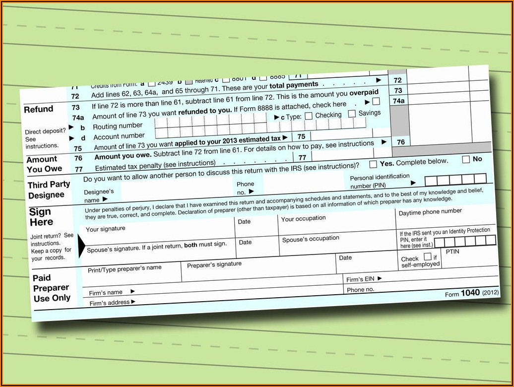Irs Free Fillable Form 1040