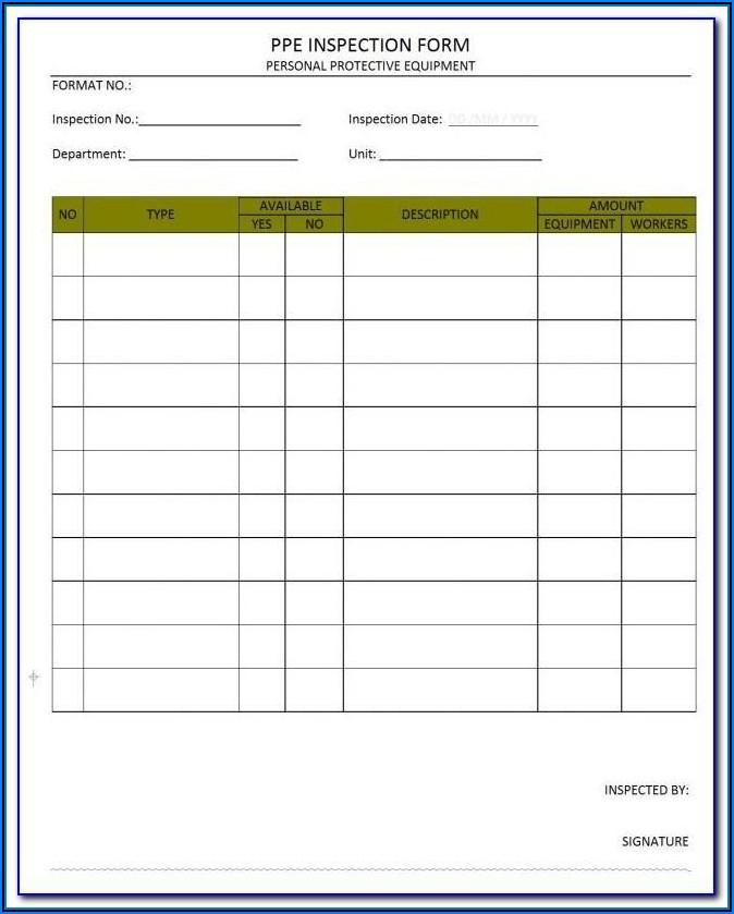 Osha Safety Data Sheet Example
