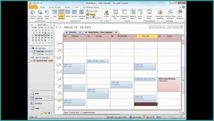 Sharepoint Staff Scheduling Template