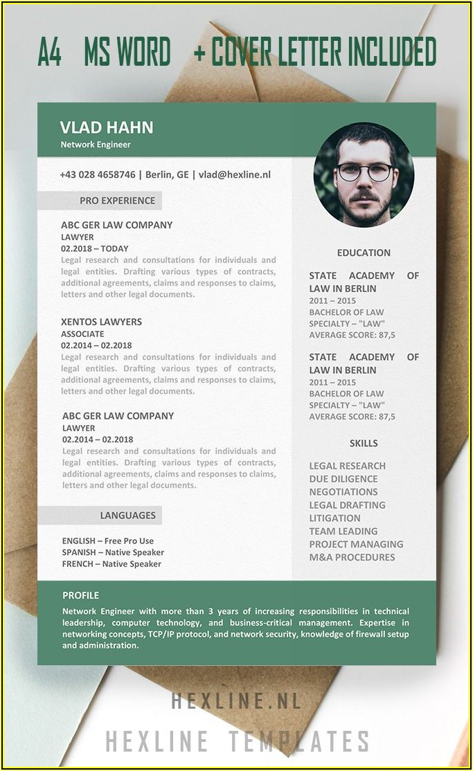 Simple Resume Template Download In Ms Word