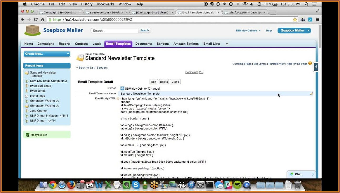 Soapbox Mailer Email Templates