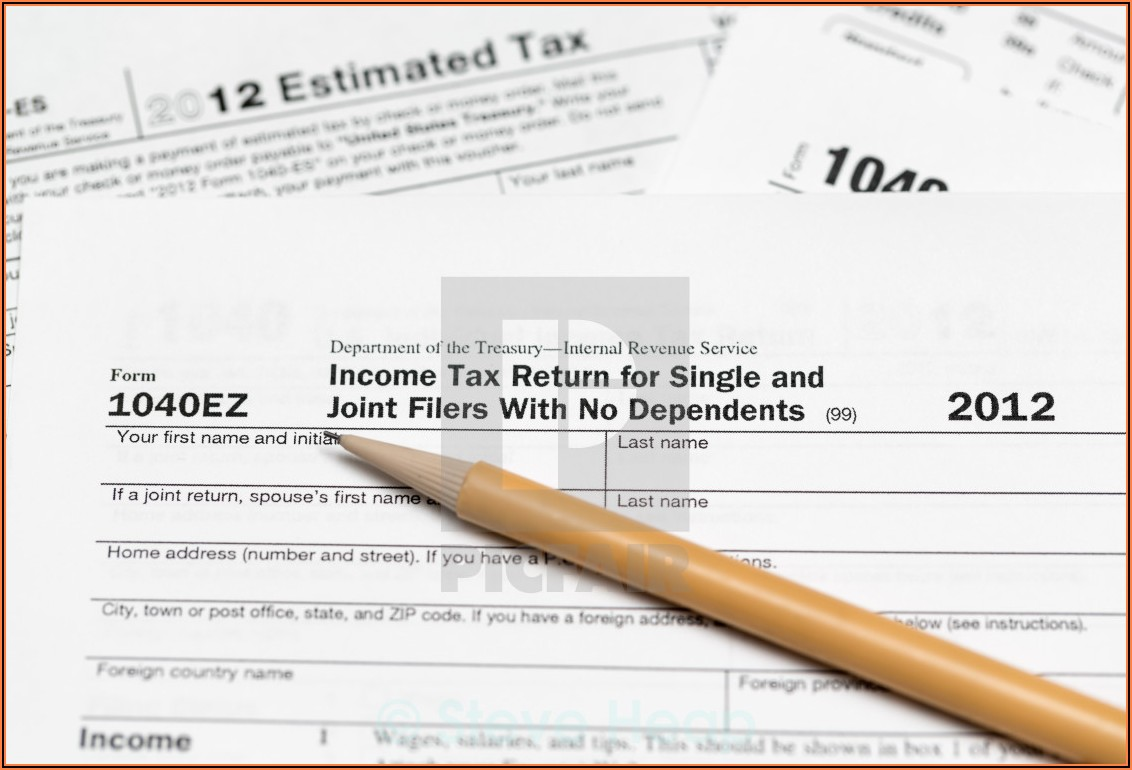 1040ez Tax Form Download