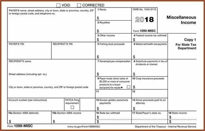 1099 Tax Form Generator