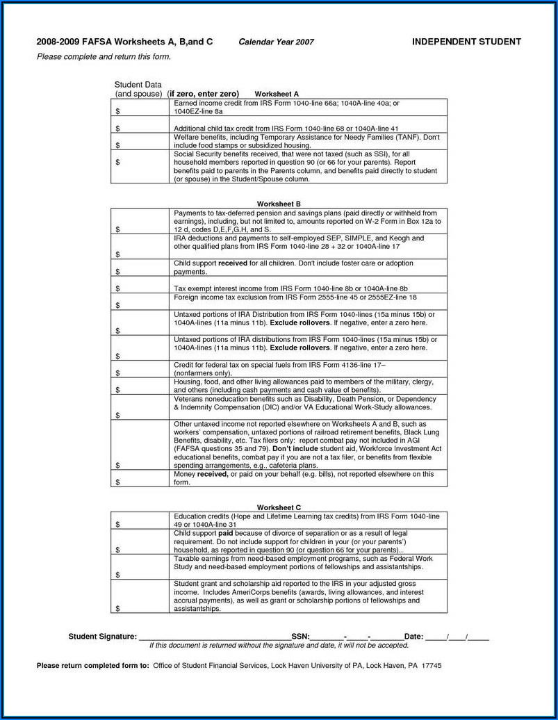 2012 Federal Tax Forms 1040a Printable