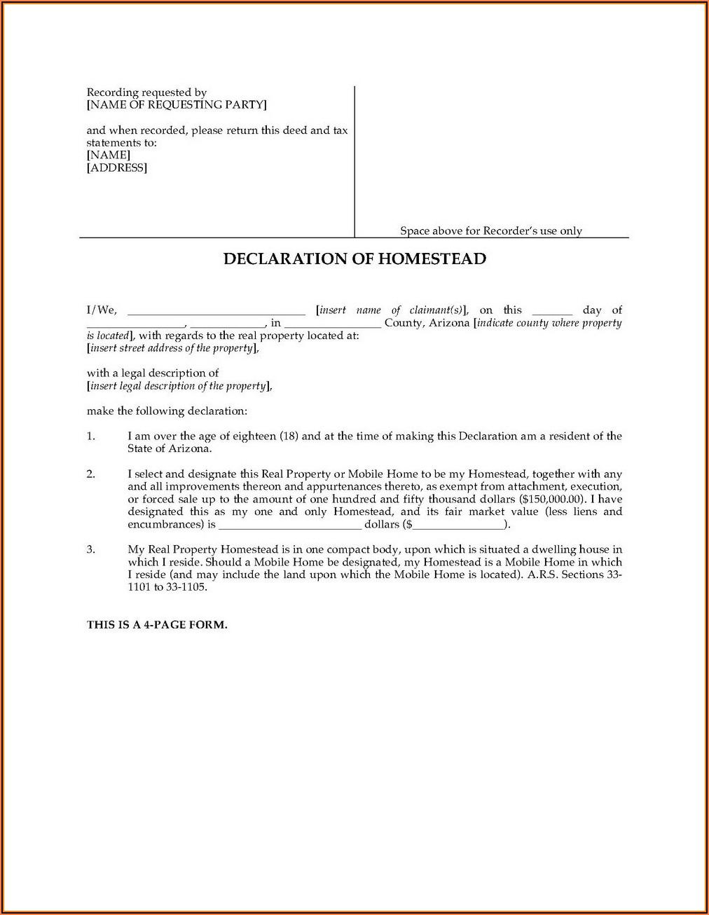 Arizona Divorce Forms Maricopa County
