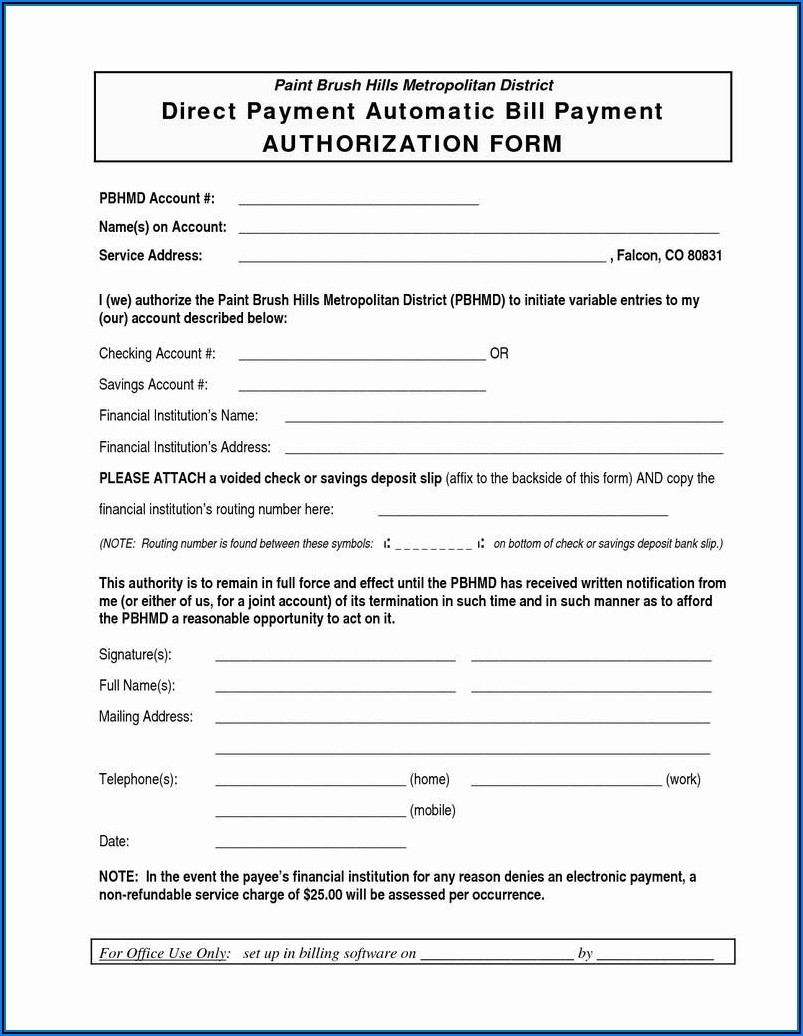 Criminal Background Check Authorization Form Template