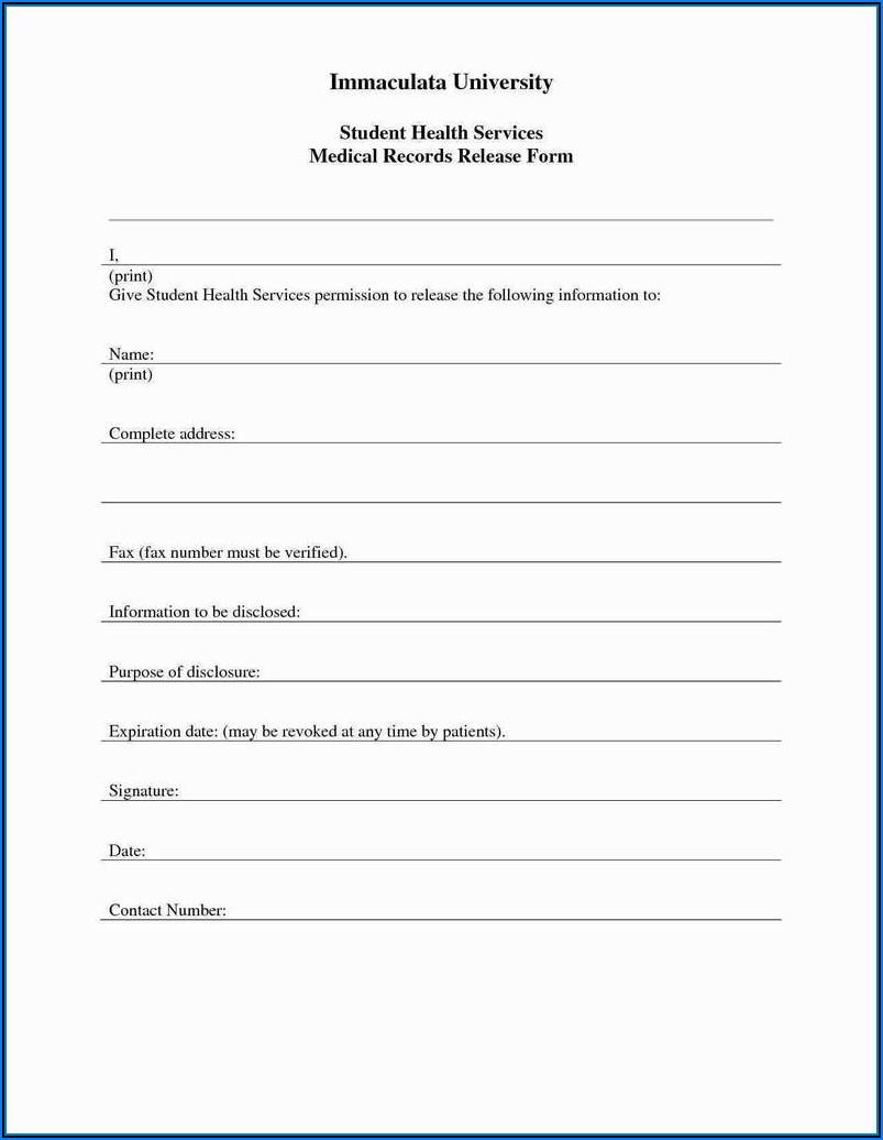 Criminal Background Check Form Template