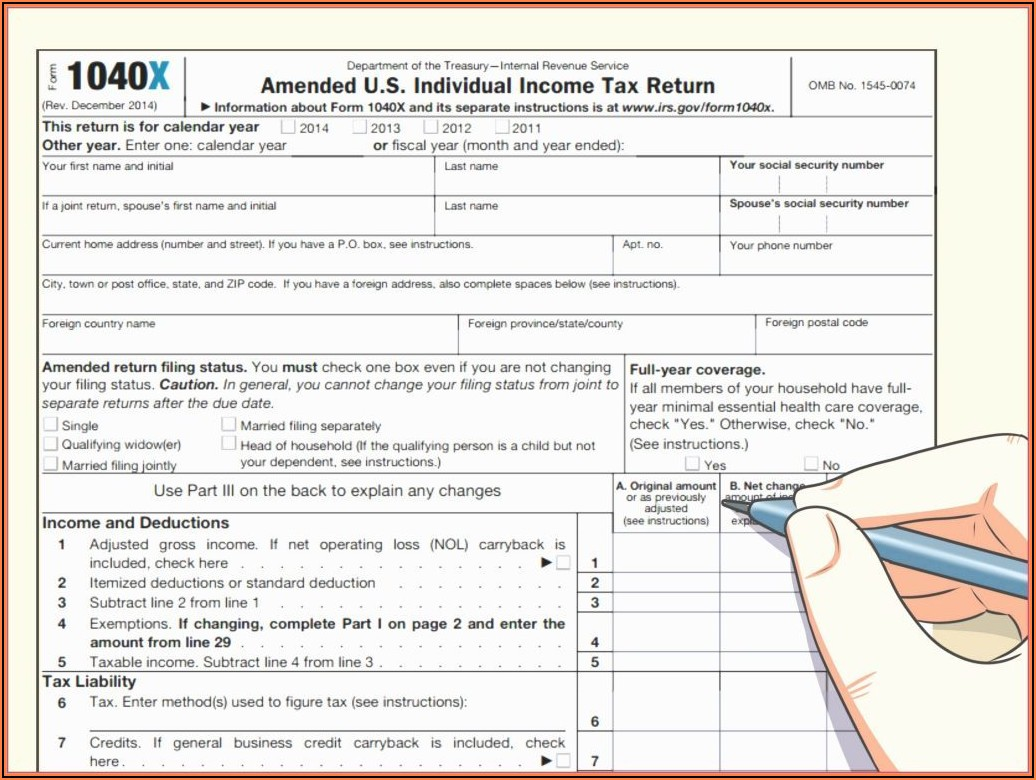 Federal Tax Forms Ez