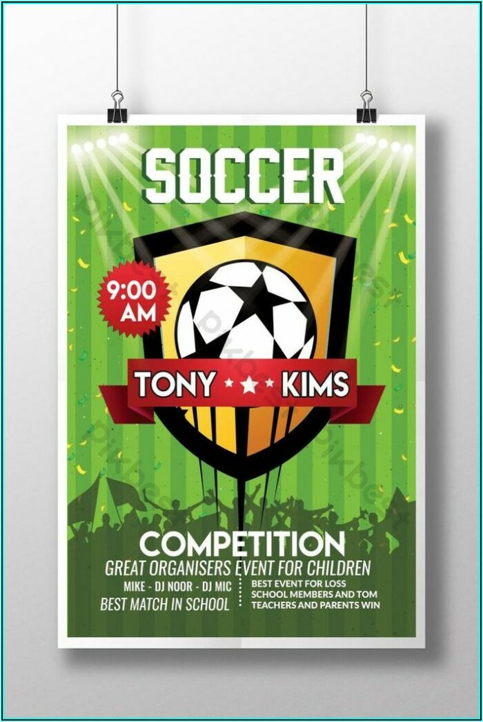 Football Poster Template Free
