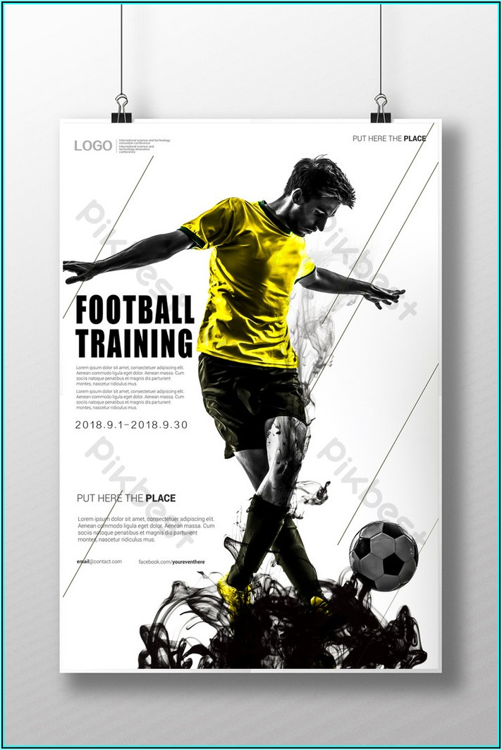 Football Poster Template