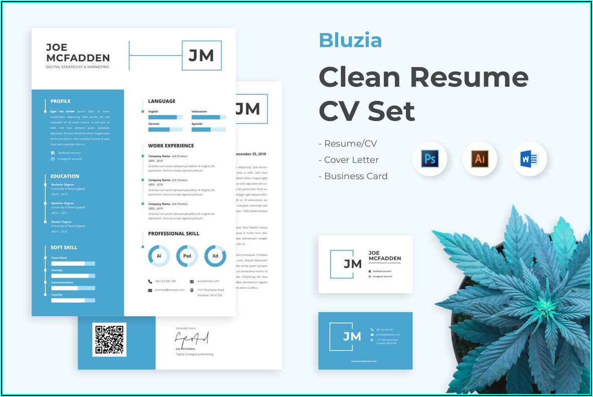 Free Cv Resume Templates Word